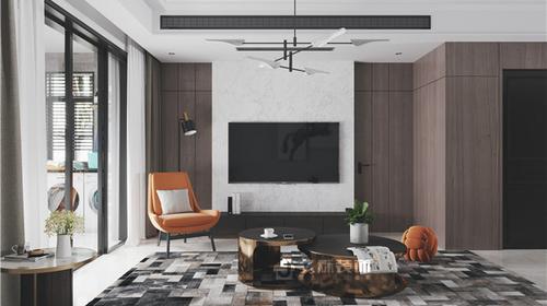 【久烁丨2019设计案例】珑玺台 10栋 134平 现代风格